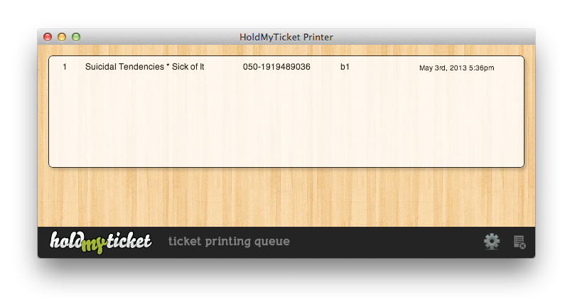 ticket printing software free